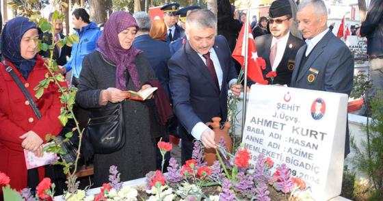 """"""" ŞEHİTLERİMİZİ UNUTMAMAK BOYNUMUZUN BORCUDUR"""""""