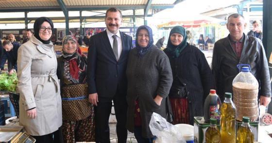 ESNAFA MODERN PAZAR YERİ