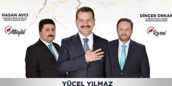 AK PARTİ MERKEZDE 3'TE 3 YAPTI!