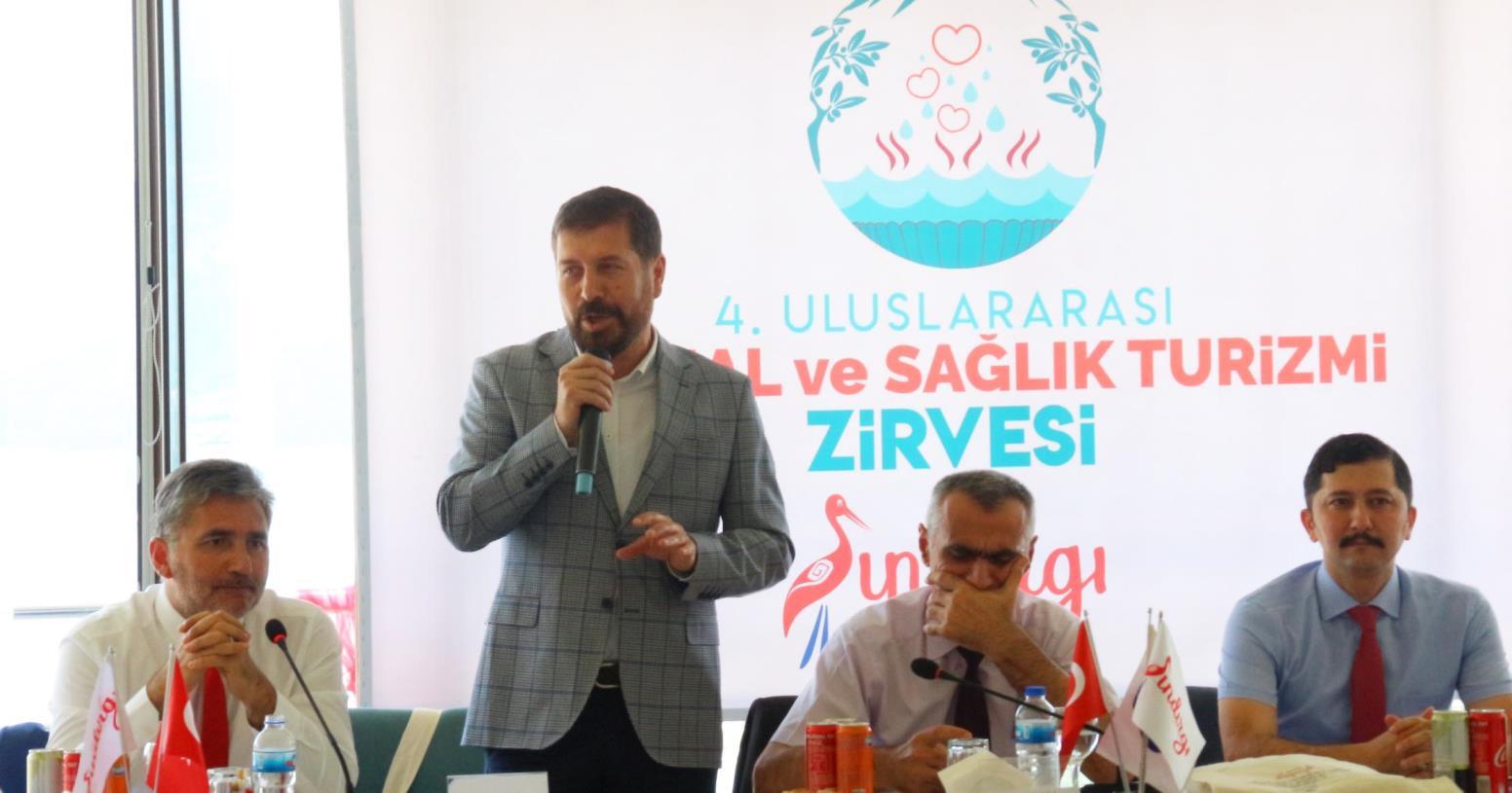 """""""GELECEĞİN TERMAL KENTİ SINDIRGI OLACAK"""""""