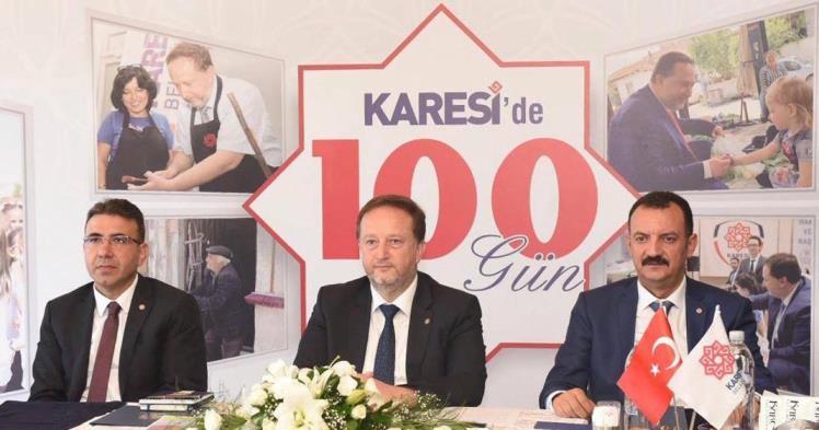 KARESİ'DE 100 GÜN
