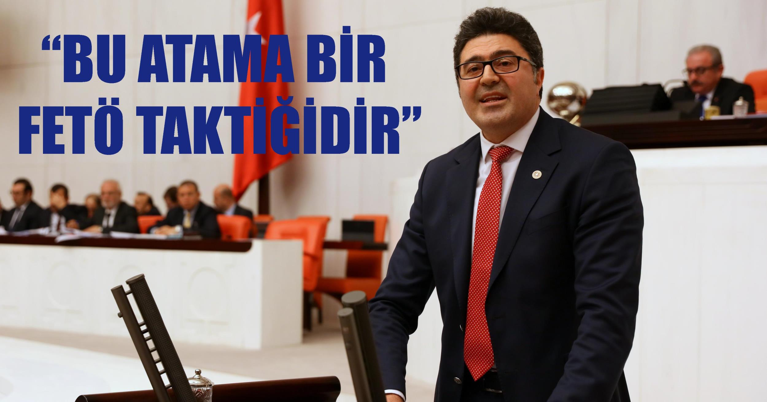 SKANDAL ATAMAYA FETÖ BENZETMESİ