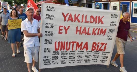 """""""İÇİMİZDEKİ YANGIN DEVAM EDİYOR"""""""