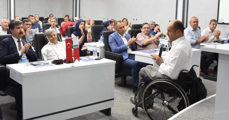 ENGELLİ MECLİSİ'NDE ŞENTÜRK DÖNEMİ
