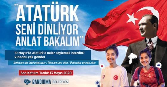 ATATÜRK'E SESLEN, DİZÜSTÜ BİLGİSAYAR KAZAN
