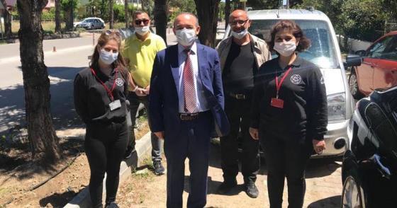 VEFA SOSYAL DESTEK GRUBU BAYRAMDA DA VATANDAŞIN HİZMETİNDE
