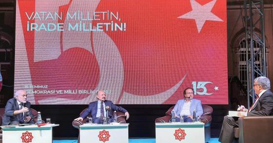 """""""DARBELERE VE FETÖ'YE YÖNELİK MÜCADELE DEVAM ETMELİ"""""""