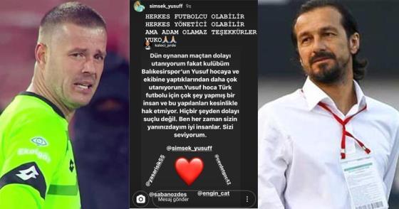 VUKOVİC'TEN İSYAN, ŞİMŞEK'TEN TEŞEKKÜR