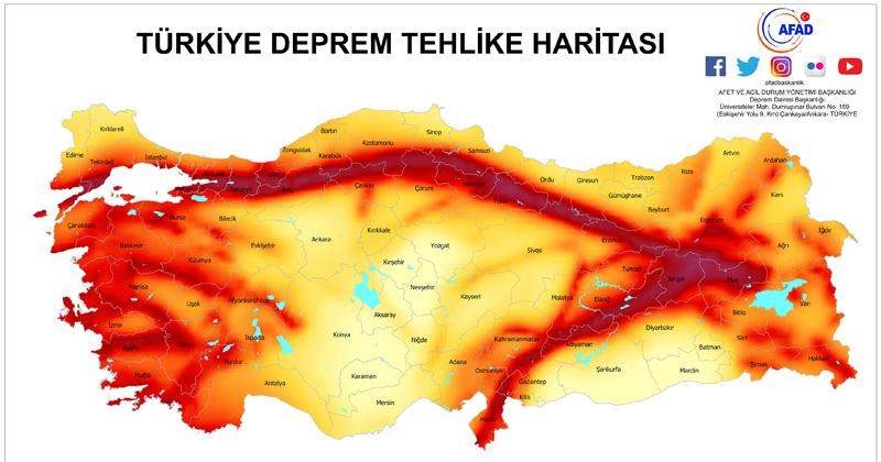 """""""İZMİR-BALIKESİR ZONU ÇOK RİSKLİ"""""""