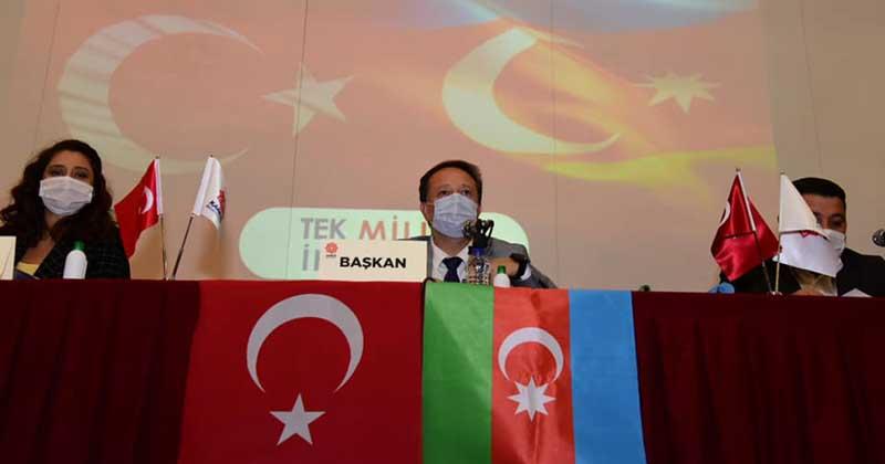 AZERBAYCAN'A DESTEK, ERMENİSTAN'A KINAMA
