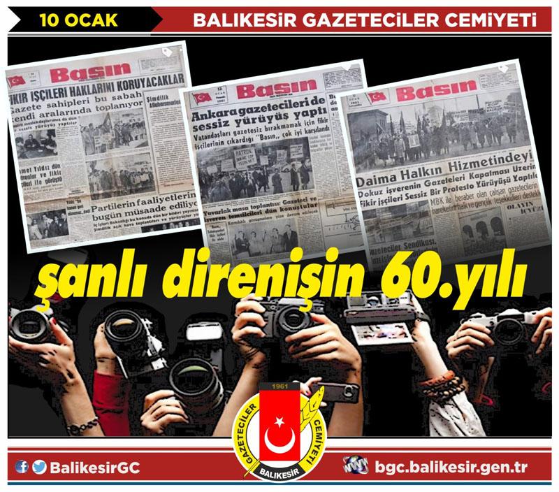 """""""ŞARLATANLARLA GAZETECİLERİ AYIRT EDİN"""""""
