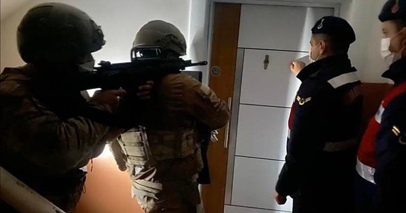 JANDARMA'DAN DEAŞ OPERASYONU 126 GÖZALTI