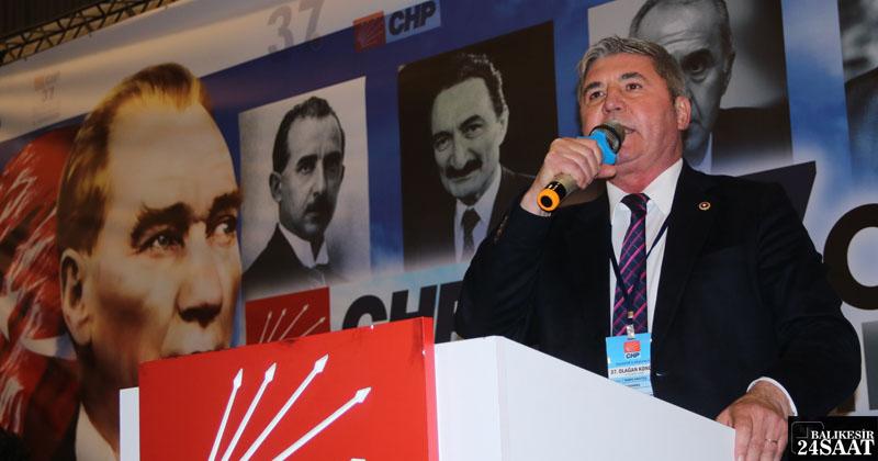 """""""BENİM İÇİN ASLA VAZGEÇİLMEZ DEĞER CHP'DİR"""""""