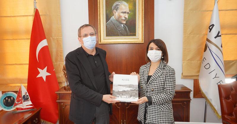 CHP PM ÜYESİ TAŞÇIER'DEN BAŞKAN ERGİN'E ZİYARET